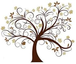 design clipart tree pencil and in color design clipart tree