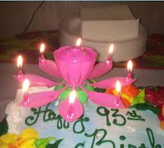 lotus birthday candle candle birthday party wedding lotus sparkling flower candles