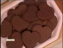 heart shaped chocolate heart shaped chocolate cookies martha stewart