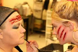 stage makeup classes who said make up has to be for beauty the horizon