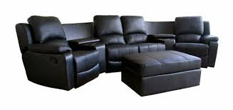 Sectional Reclining Sofas Nina Leather Reclining Sectional Sofa Reviews Brokeasshome Com