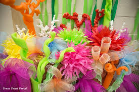 Pool Noodle Decorations How To Make A Coral Reef Decoration By Press Print Party