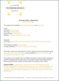 how to write an interior design letter of agreement dana moore