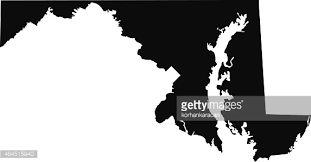 maryland mapa maryland map vector getty images