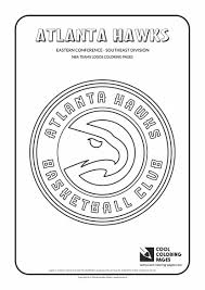 cool coloring pages nba basketball clubs logos easter