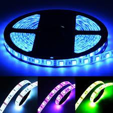 blue led strip lights 12v multicolor led light strip kit rgb led strip lights torchstar