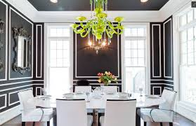 bedroom formal dining room with complementary color using white