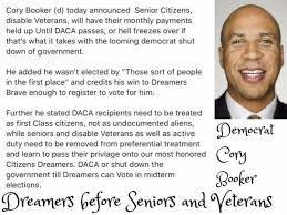Cory Booker Meme - fact check did sen cory booker put undocumented people before