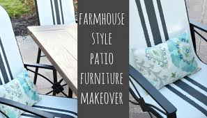 outdoor furniture makeovers a trash to treasure blog hop reinvented