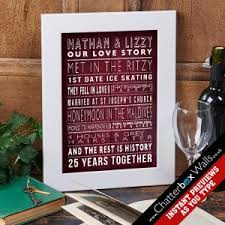 wedding gift ideas uk personalised wedding gift ideas from chatterbox walls the