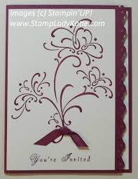 stampladykatie com wedding sweet invitation