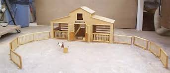 Free Wooden Toy Barn Plans by Build This Horse Stable For Your Lil Riders