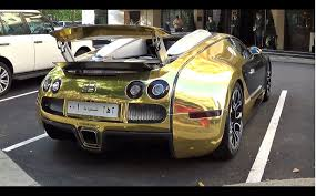 gold bugatti golden bugatti veyron grand sport revs u0026 0 60mph launch youtube
