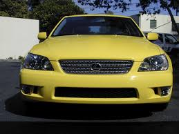 yellow lexus is200 for sale lexus is xe10