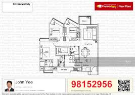 kovan melody floor plan kovan melody 25 kovan road 3 bedrooms 1216 sqft condominiums