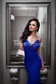 sheath cowl neck straps chiffon long prom dress with beaded