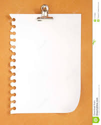 blank note paper on cardboard background royalty free stock image