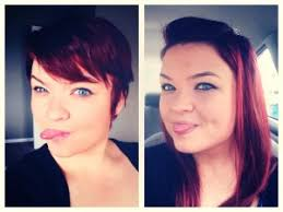 pixie to long hair extensions fat girl pixie cut google search hair pinterest pixie cut