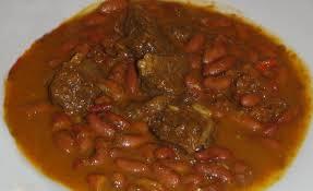 cuisiner les haricots coco soupe de bœuf aux haricots rouges et coco