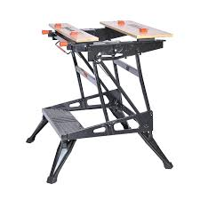 Keter Folding Work Table Bench Mate With 2 Clamps Black U0026 Decker Wm425 A Portable 550 Pound Project Center And Vise