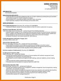 sample resumes for administrative positions examples of resume