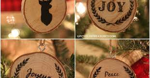 Personalized Wood Christmas Ornaments