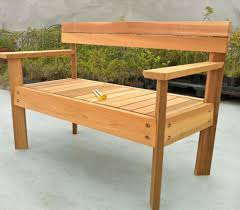 blossoming yard bench plans tags how to make wooden bench bar