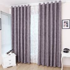 Plum Blackout Curtains Beautiful And Elegant Floral Purple Blackout Curtains Of Faux Suede