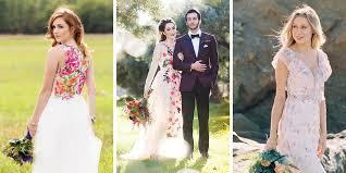floral wedding dresses gorgeous floral print wedding dresses aleteia