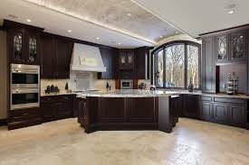 White Kitchen Cabinets With Tile Floor 46 Kitchens With Dark Cabinets Black Kitchen Pictures