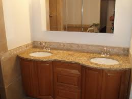 cool bathroom countertops brown stained wooden bathroom cabinet