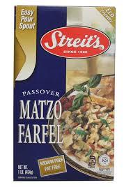matzah farfel matzo farfel 1 lb streits matzos