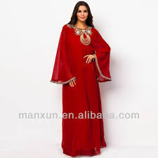 fancy muslim dress islamic abaya for women width cuff abaya