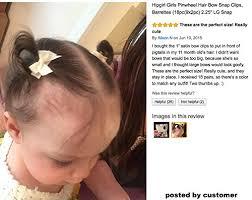 snap hair hipgirl 12pcs 1 inch snap hair mini ribbon bow