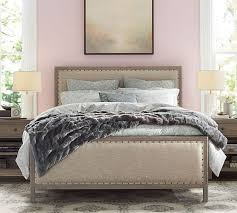 Pottery Barn Sausalito Toulouse Wood Bed Pottery Barn Queen Overall 64 25