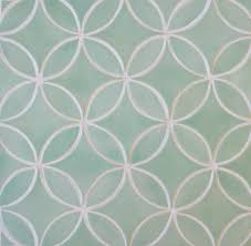 crush of the week moroccan circles tile design salad
