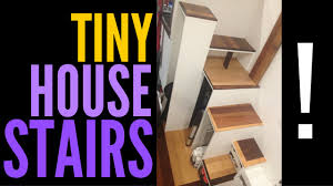tiny house stairs youtube