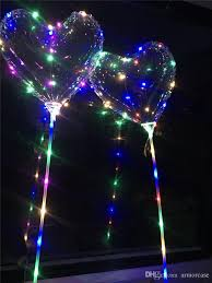 balloons shaped like light bulbs led heart shaped balloons valentine s day gifts bobo ball night