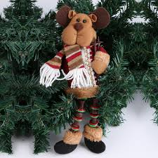 online shop santa claus snow man reindeer doll christmas decor