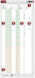 bid ask significato read the tape with ninjatrader s time sales window