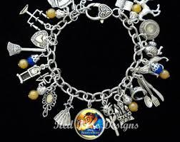 themed charm bracelet charm bracelet etsy