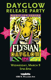 Home Design Gold Ipa Elysian Dayglow Ipa Release Party In Portland New Beer