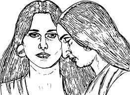 abraham and sarah woman sketch coloring page wecoloringpage