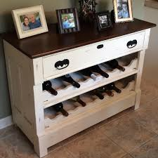Small Sideboard With Wine Rack Dresser To Wine Rack Diy Wine Rack Dresser And Wine