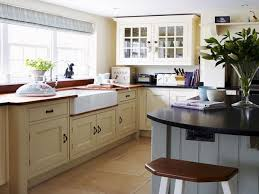 Country Style Kitchen by Ranch Style Kitchen Sinks Blue Cabinets Country Kitchens With