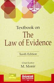 textbook on the law of evidence ebc webstore