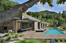 Modern Villas by Modern Italian Stone Villa On A Hill Overlooking The Ligurian