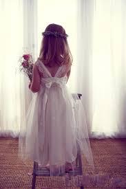 cute silver tulle puffy flower dresses vestido festa menina a