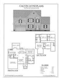 calvin jayne plans two story 2529 2926 sq ft