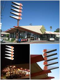 googie architecture in los angeles from diners to gas stations